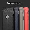 Dafoni Liquid Shield Premium OnePlus 5 Kırmızı Silikon Kılıf - Resim 10