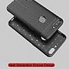 Dafoni Liquid Shield Premium OnePlus 5 Kırmızı Silikon Kılıf - Resim 8