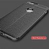 Dafoni Liquid Shield Premium OnePlus 5 Kırmızı Silikon Kılıf - Resim 6