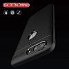 Dafoni Liquid Shield Premium OnePlus 5 Siyah Silikon Kılıf - Resim 1