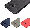 Dafoni Liquid Shield Premium Samsung Galaxy A3 2017 Kırmızı Silikon Kılıf - Resim 12