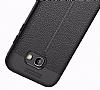 Dafoni Liquid Shield Premium Samsung Galaxy A7 2017 Siyah Silikon Kılıf - Resim 6