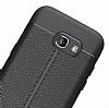 Dafoni Liquid Shield Premium Samsung Galaxy A7 2017 Siyah Silikon Kılıf - Resim 1