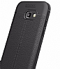 Dafoni Liquid Shield Premium Samsung Galaxy A7 2017 Siyah Silikon Kılıf - Resim 2