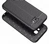 Dafoni Liquid Shield Premium Samsung Galaxy A7 2017 Siyah Silikon Kılıf - Resim 4