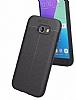 Dafoni Liquid Shield Premium Samsung Galaxy A7 2017 Siyah Silikon Kılıf - Resim 7