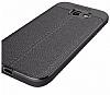 Dafoni Liquid Shield Premium Samsung Galaxy A7 2017 Siyah Silikon Kılıf - Resim 3