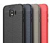 Dafoni Liquid Shield Premium Samsung Grand Prime Pro J250F Kırmızı Silikon Kılıf - Resim 3