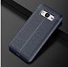 Dafoni Liquid Shield Premium Samsung Galaxy J5 Lacivert Silikon Kılıf - Resim 1