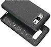 Dafoni Liquid Shield Premium Samsung Galaxy J5 Siyah Silikon Kılıf - Resim 6
