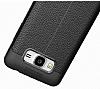 Dafoni Liquid Shield Premium Samsung Galaxy J5 Siyah Silikon Kılıf - Resim 4