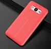 Dafoni Liquid Shield Premium Samsung Galaxy J7 Kırmızı Silikon Kılıf - Resim 1