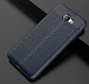 Dafoni Liquid Shield Premium Samsung Galaxy J7 Prime Lacivert Silikon Kılıf - Resim 13