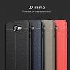 Dafoni Liquid Shield Premium Samsung Galaxy J7 Prime Kırmızı Silikon Kılıf - Resim 11