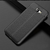 Dafoni Liquid Shield Premium Samsung Galaxy J7 Prime Siyah Silikon Kılıf - Resim 1