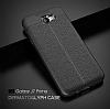 Dafoni Liquid Shield Premium Samsung Galaxy J7 Prime Gri Silikon Kılıf - Resim 1