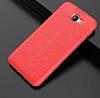 Dafoni Liquid Shield Premium Samsung Galaxy J7 Prime Kırmızı Silikon Kılıf - Resim 12
