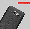 Dafoni Liquid Shield Premium Samsung Galaxy J7 Prime Siyah Silikon Kılıf - Resim 3