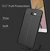 Dafoni Liquid Shield Premium Samsung Galaxy J7 Prime Kırmızı Silikon Kılıf - Resim 4