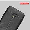 Dafoni Liquid Shield Premium Samsung Galaxy J7 Pro 2017 Siyah Silikon Kılıf - Resim 2