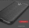 Dafoni Liquid Shield Premium Samsung Galaxy J7 Pro 2017 Siyah Silikon Kılıf - Resim 4