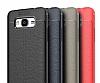 Dafoni Liquid Shield Premium Samsung Galaxy J7 Kırmızı Silikon Kılıf - Resim 9