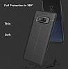 Dafoni Liquid Shield Premium Samsung Galaxy Note 8 Kırmızı Silikon Kılıf - Resim 4