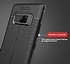 Dafoni Liquid Shield Premium Samsung Galaxy Note 8 Kırmızı Silikon Kılıf - Resim 6