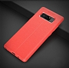 Dafoni Liquid Shield Premium Samsung Galaxy Note 8 Kırmızı Silikon Kılıf - Resim 13