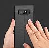 Dafoni Liquid Shield Premium Samsung Galaxy Note 8 Kırmızı Silikon Kılıf - Resim 2