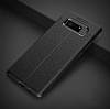 Dafoni Liquid Shield Premium Samsung Galaxy Note 8 Siyah Silikon Kılıf - Resim 1