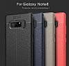 Dafoni Liquid Shield Premium Samsung Galaxy Note 8 Kırmızı Silikon Kılıf - Resim 12
