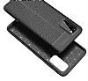 Dafoni Liquid Shield Premium Samsung Galaxy S20 Siyah Silikon Kılıf - Resim 7