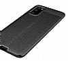 Dafoni Liquid Shield Premium Samsung Galaxy S20 Siyah Silikon Kılıf - Resim 5