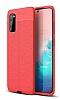 Dafoni Liquid Shield Premium Samsung Galaxy S20 Kırmızı Silikon Kılıf
