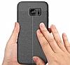 Dafoni Liquid Shield Premium Samsung Galaxy S7 Edge Siyah Silikon Kılıf - Resim 6