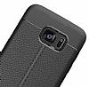 Dafoni Liquid Shield Premium Samsung Galaxy S7 Edge Siyah Silikon Kılıf - Resim 1