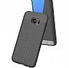 Dafoni Liquid Shield Premium Samsung Galaxy S7 Edge Siyah Silikon Kılıf - Resim 2