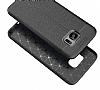 Dafoni Liquid Shield Premium Samsung Galaxy S7 Edge Siyah Silikon Kılıf - Resim 3