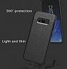 Dafoni Liquid Shield Premium Samsung Galaxy S8 Plus Gri Silikon Kılıf - Resim 7