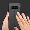 Dafoni Liquid Shield Premium Samsung Galaxy S8 Lacivert Silikon Kılıf - Resim 10