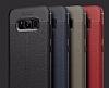 Dafoni Liquid Shield Premium Samsung Galaxy S8 Lacivert Silikon Kılıf - Resim 12