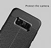 Dafoni Liquid Shield Premium Samsung Galaxy S8 Lacivert Silikon Kılıf - Resim 2