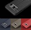Dafoni Liquid Shield Premium Samsung Galaxy S8 Lacivert Silikon Kılıf - Resim 11