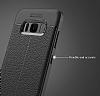 Dafoni Liquid Shield Premium Samsung Galaxy S8 Lacivert Silikon Kılıf - Resim 5