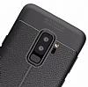 Dafoni Liquid Shield Premium Samsung Galaxy S9 Plus Siyah Silikon Kılıf - Resim 1