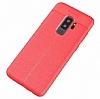 Dafoni Liquid Shield Premium Samsung Galaxy S9 Plus Kırmızı Silikon Kılıf - Resim 3