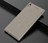 Dafoni Liquid Shield Premium Sony Xperia XA1 Ultra Gri Silikon Kılıf - Resim 7