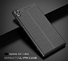 Dafoni Liquid Shield Premium Sony Xperia XA1 Ultra Gri Silikon Kılıf - Resim 3