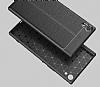 Dafoni Liquid Shield Premium Sony Xperia XA1 Ultra Siyah Silikon Kılıf - Resim 2